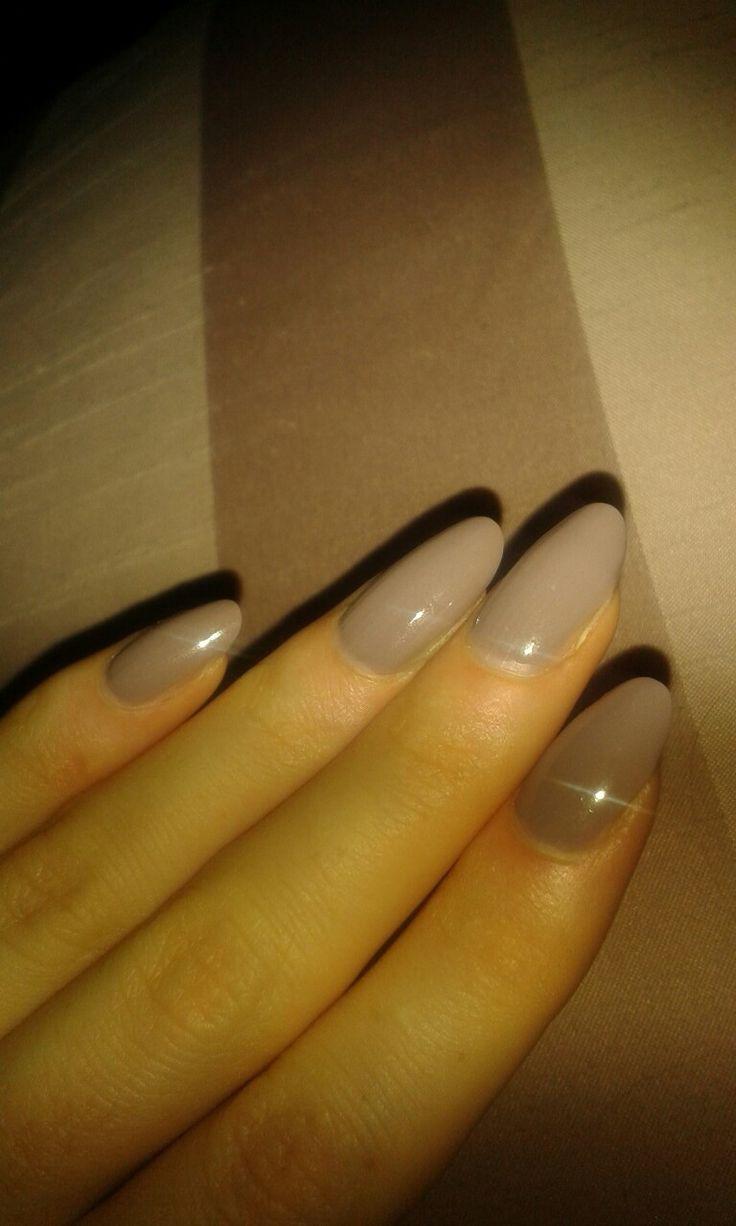 Nails, Naildesign, Nagellack, Nude, Lila-Grau