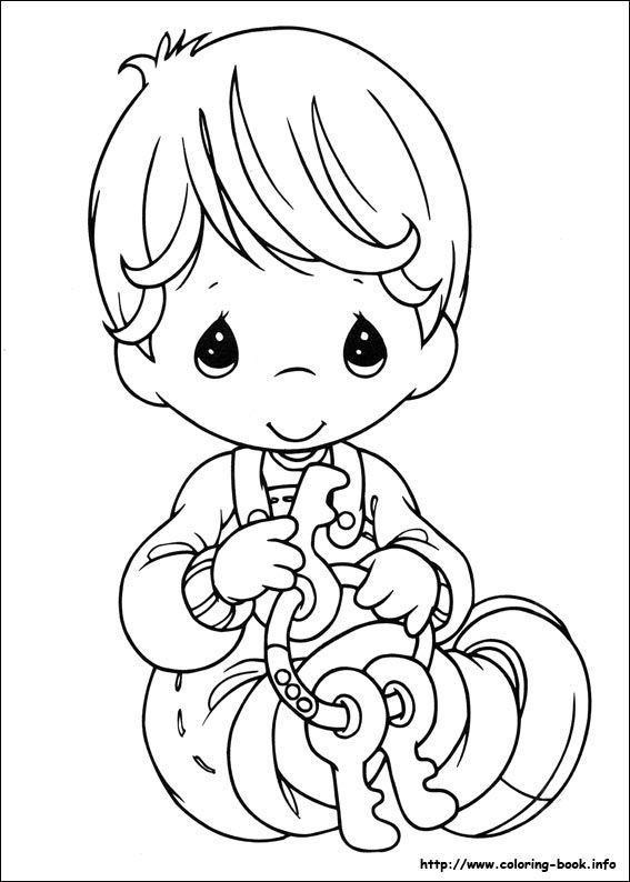 Pinterest the world s catalog of ideas for Precious moments baby coloring pages
