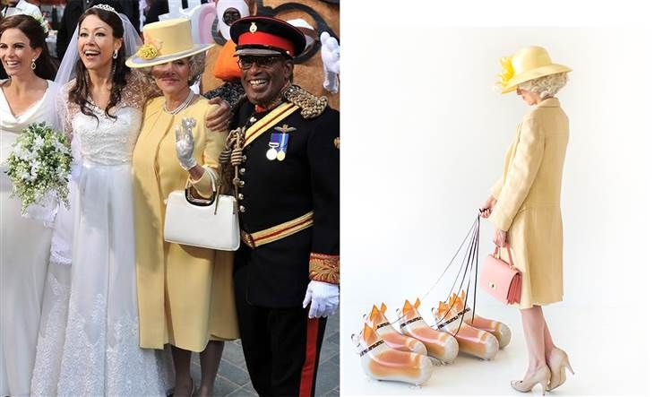 The Queen of England Costume featured our #myownpet Balloons! @todayshow http://www.burtonandburton.com/26PKG-CORGI-PET-DZ88231.asp