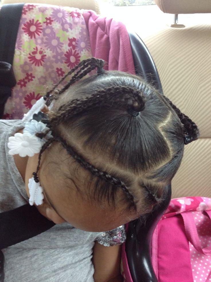 Little Girl Braided Hair Style