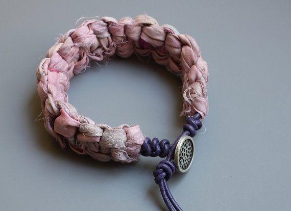 Sari zijde armband  zomer armband  van crystalglowdesign op Etsy