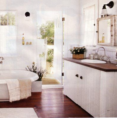 Web Image Gallery rustic cottage bathroom wood for and lt vanity