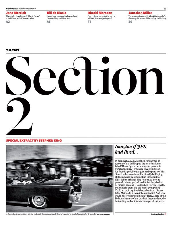 The Independent redesign. Matt Willey.