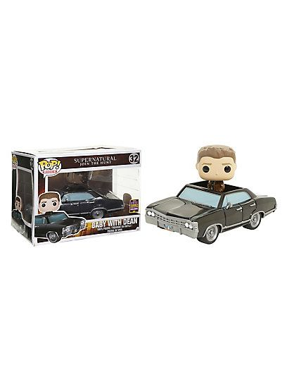 Funko Supernatural Pop! Rides Baby With Dean 6 Inch Vinyl Figure 2017 Summer Convention ExclusiveFunko Supernatural Pop! Rides Baby With Dean 6 Inch Vinyl Figure 2017 Summer Convention Exclusive,
