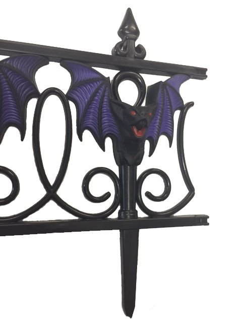 Halloween Horror 3d Bat Garden Stake/fence - Party Supplies Online - Australia's biggest online party shop