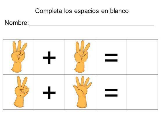 vamos a sumar con los dedos (15)