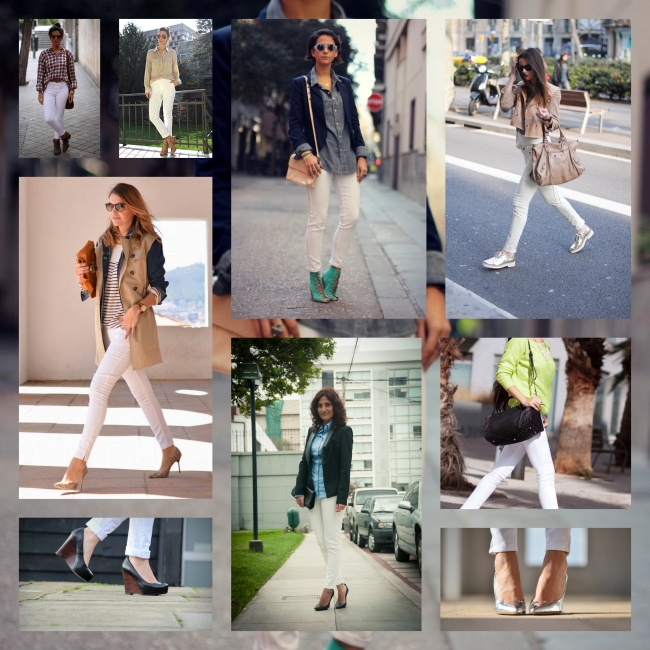 STYLE IN LIMA: white skiny pants