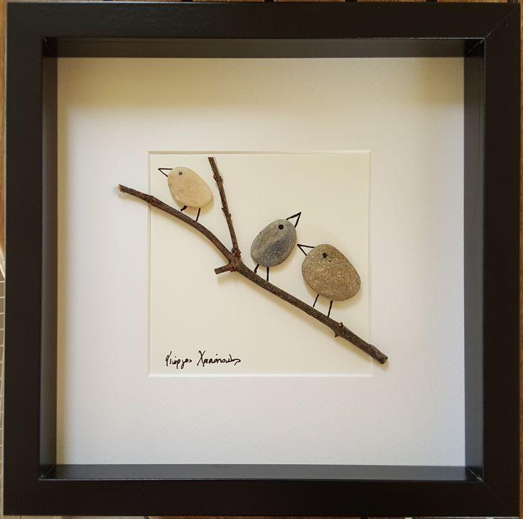 Birds on branch (Sold)