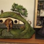 House for cats made to look like Lord Of The Rings