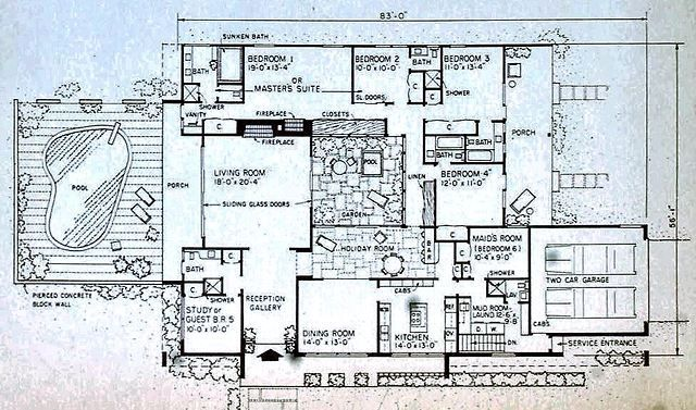 Mid century house image by Das on Mid Century Modern (1946 ...