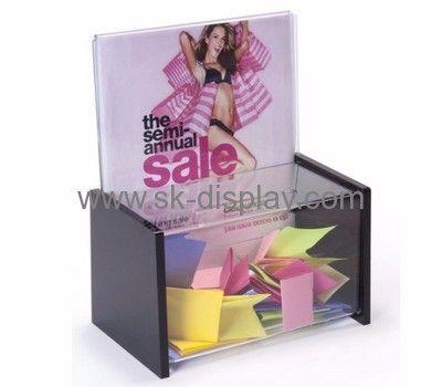 Display box manufacturers custom plastic display raffle box DBS-230