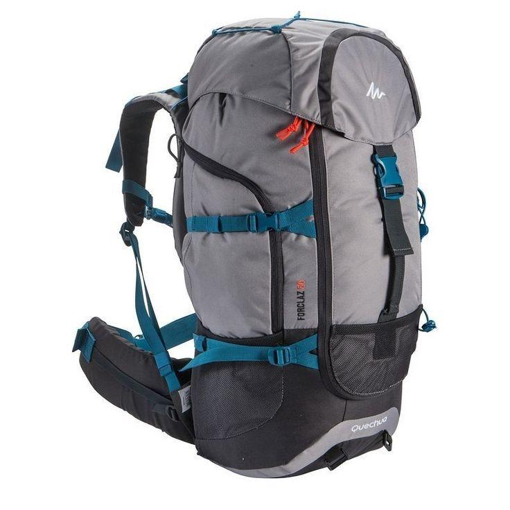 Quechua Rucksack 50L Trekkingrucksack Reiserucksack Taschen Backpack Camping