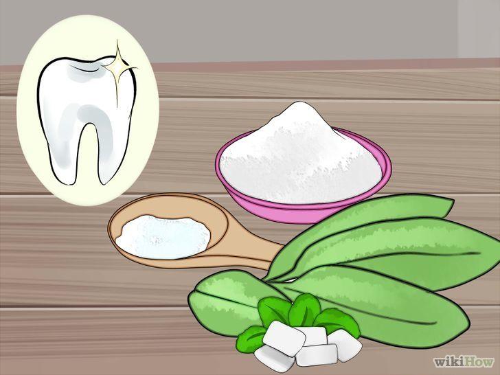 Pasta dental casera para eliminar las caries, enfermedades de las encías y blanquear los dientes.