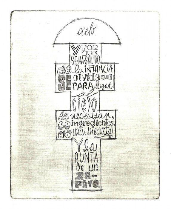 Celeste Ciafarone es una ilustradora argentina que ha trabajado con Rayuela, la obra de Julio Cortazar.