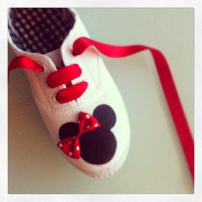 · punt a punt: Unas zapatilla molonas - Do It Yourself (DIY)