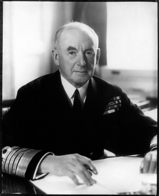 Allied leaders - Admiral of the Fleet Sir Alfred Dudley Pickman Rogers Pound (29 August 1877 – 21 October 1943) was a Royal Navy officer. He served as First Sea Lord, the professional head of the Royal Navy, for the first four years of World War II. In that role his greatest achievement was his successful campaign against German U-boat activity and the winning of the Battle of the Atlantic.