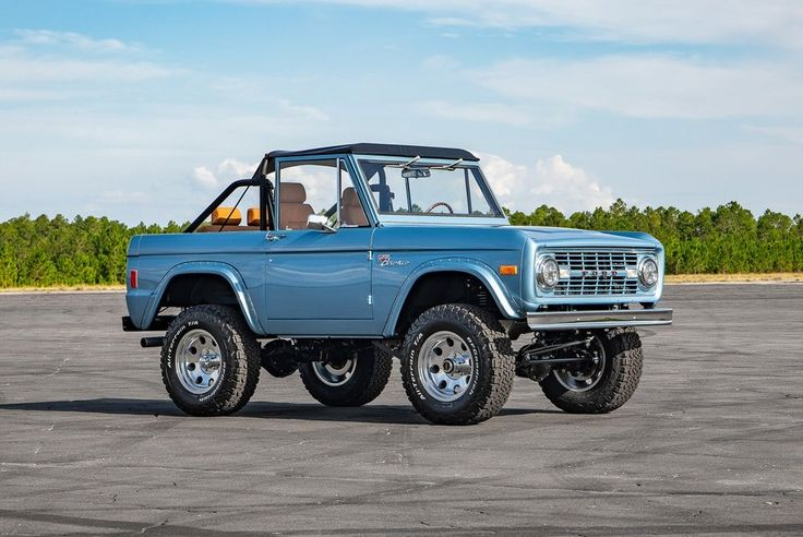 Classic Ford Broncos For Sale Velocity Restorations in