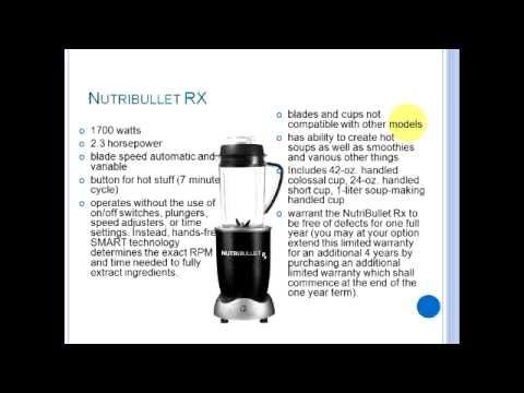 http://www.blendingforyourhealth.com/ - Check out our website for more awesome stuff!  What is the difference between the Nutribullets???