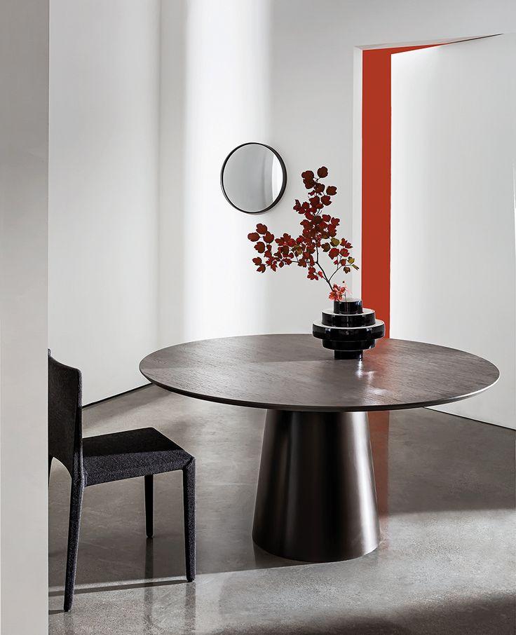 Totem wood  #diningroom #ideas #design #designlovers #archilovers #home#contract #interiors #decor #sovetitalia  #furniture #contemporary