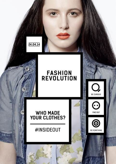 Fashion Revolution Day #InsideOut 24th April