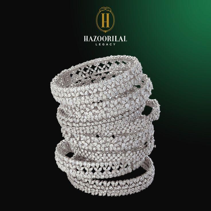 #LegacyOfDiamonds : Beauty that inspires… #HazoorilalLegacy #Hazoorilal #Jewelry…