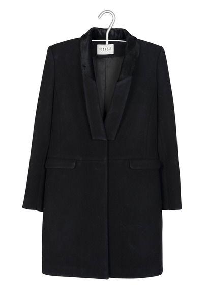 Manteau Cintré Noir Claudie Pierlot pour femme sur Place des tendances Groupe Printemps. Retrouvez toute la collection Claudie Pierlot pour femme.