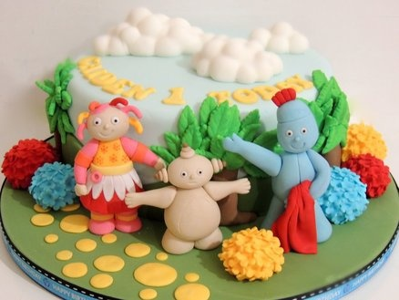 In the night garden  Cake by ShereensCakes