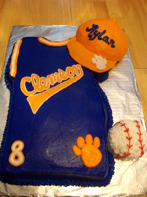 Best Clemson Birthday Cakes Images On Pinterest Birthday Cakes - Clemson birthday cakes
