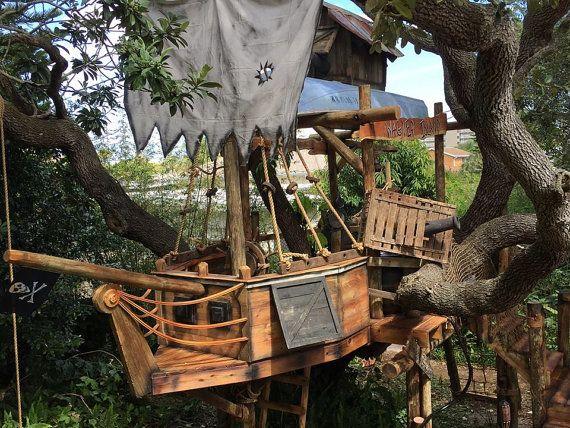 Tom Sawyer Pirate Theme Design Tree House von TinyTownStudios