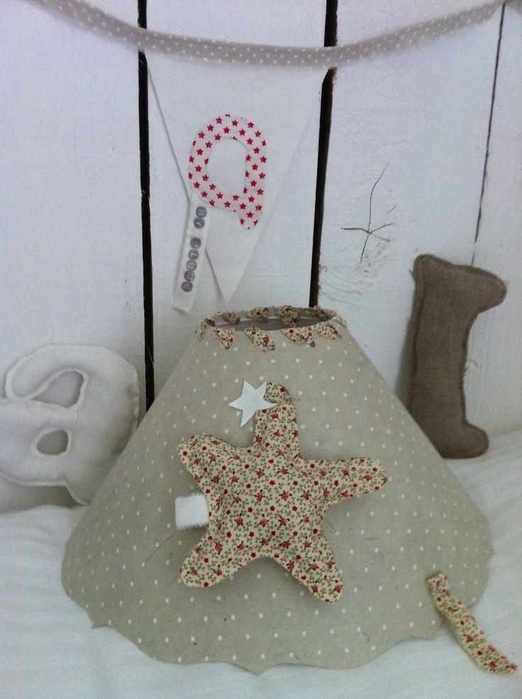 abat jour original enfant etoile d coration. Black Bedroom Furniture Sets. Home Design Ideas
