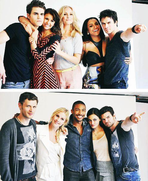 TVD cast & The Originals cast. :)