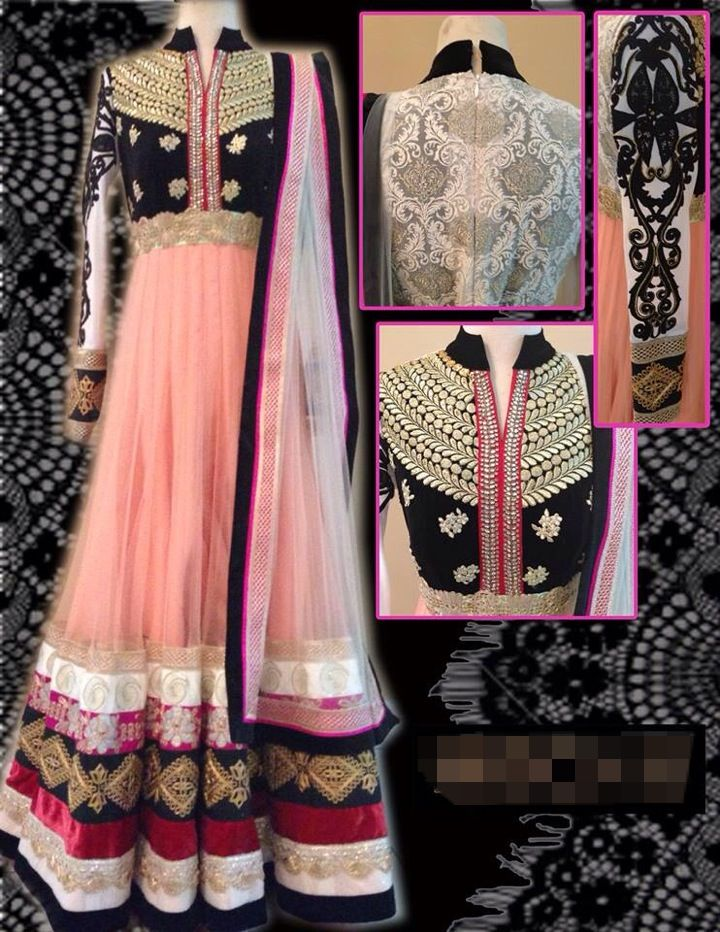 Floor length Anarkali.. Lovely..!!