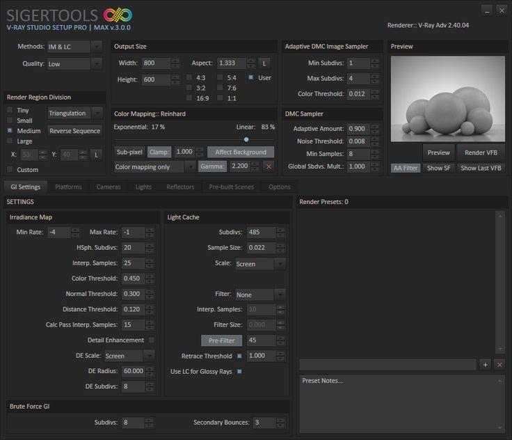 V-Ray Studio Setup Pro   ScriptSpot