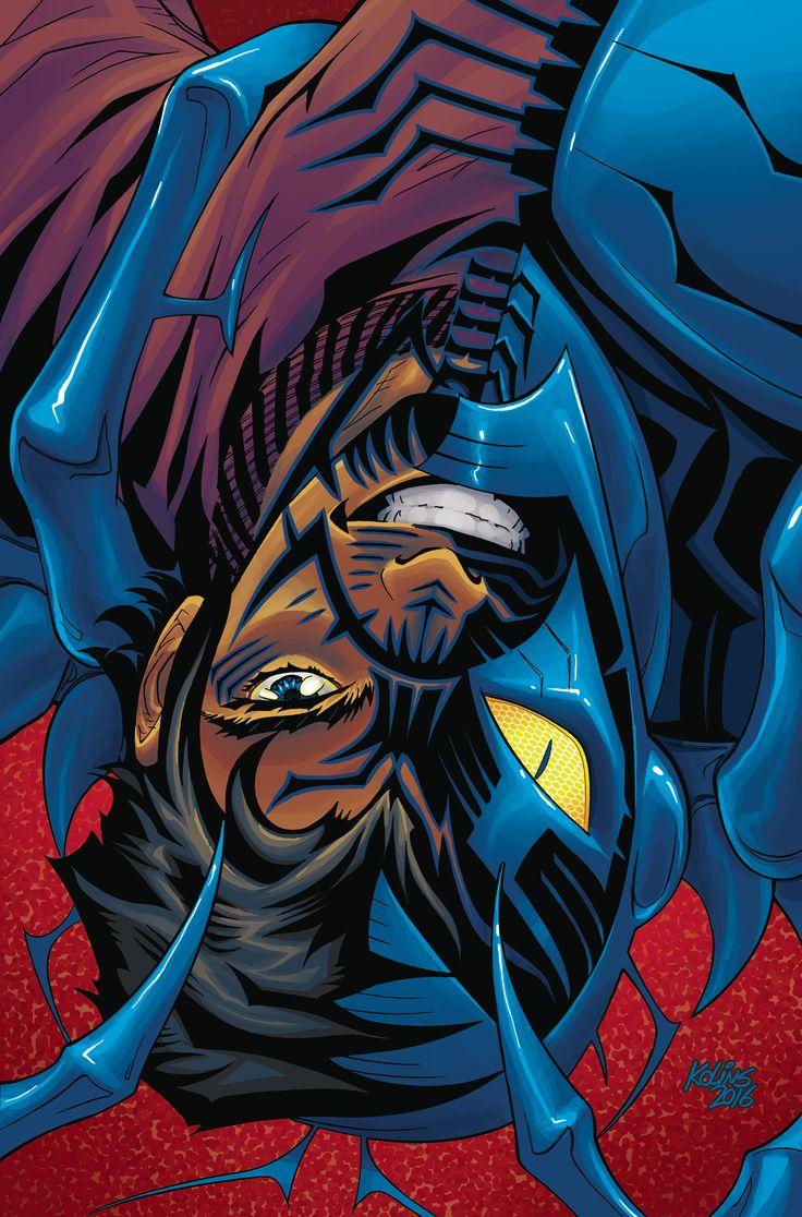 BLUE BEETLE TP VOL 01 THE MORE THINGS CHANGEunidos a los Blue Beetle Escarabajo, adolescente Jaime Reyes tiene ni idea de lo que está haciendo con una de las armas más poderosas en el universo. Pero está de suerte, porque su predecesor-Ted Kord-está de vuelta en el Universo DC, y que va a servir como mentor del joven héroe! Junto a su compañero héroe adolescente Doctor Fate, este dúo tendrá que aprender a ser héroes sobre la marcha! Escarabajo azul está de vuelta para una nueva generación…