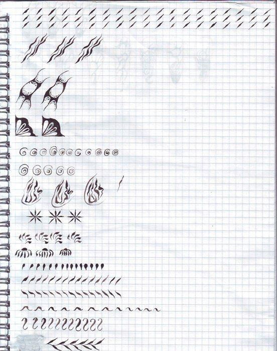 Тренировочная карта для росписи ногтей – 193 фотографии