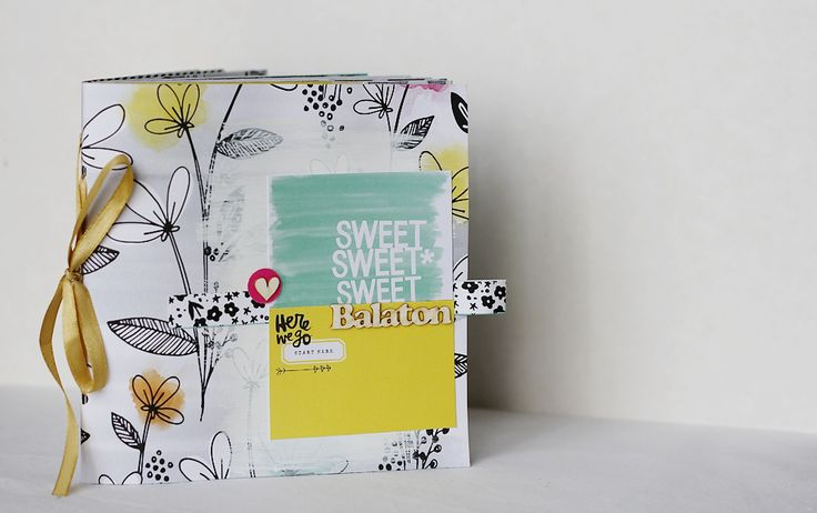 Balaton mini album by Mounier Noémi @Scrapfellow