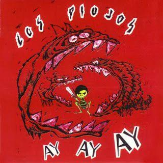 Tapa de disco Ay ay ay de Los Piojos de 1994