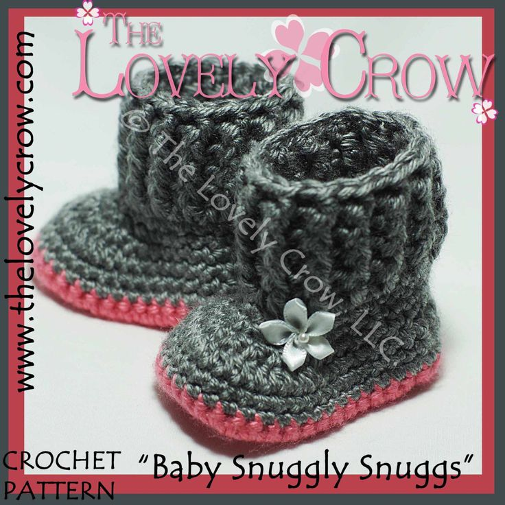 Baby Uggs Crochet Pattern BABY SNUGGLY SNUGGS digital. $5.95, via Etsy.--I sooo want to crotchet these!