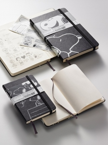 Moleskin Notebooks, for holding your creative side close