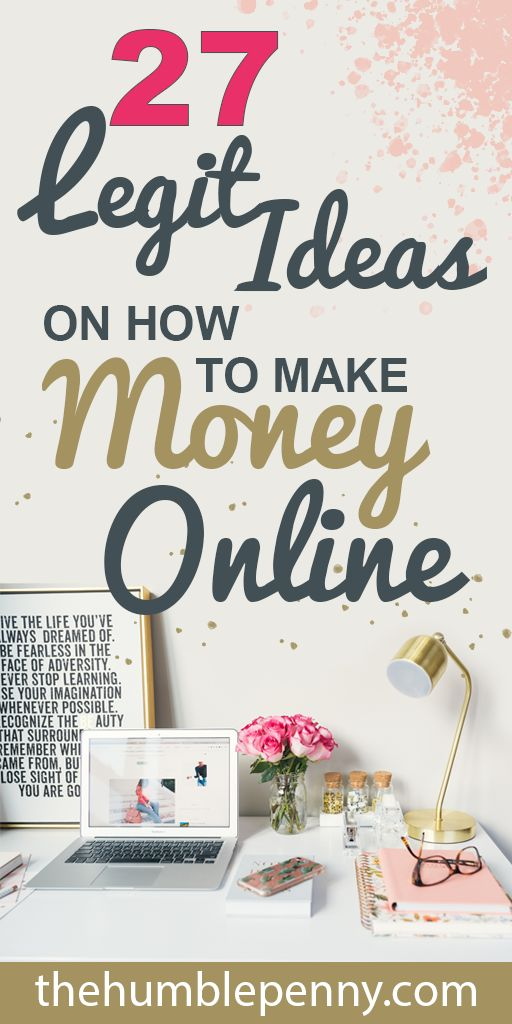 27 Legit Ideas On How To Make Money Online (2019) – Work at Home Mom Revolution | Work at Home Jobs
