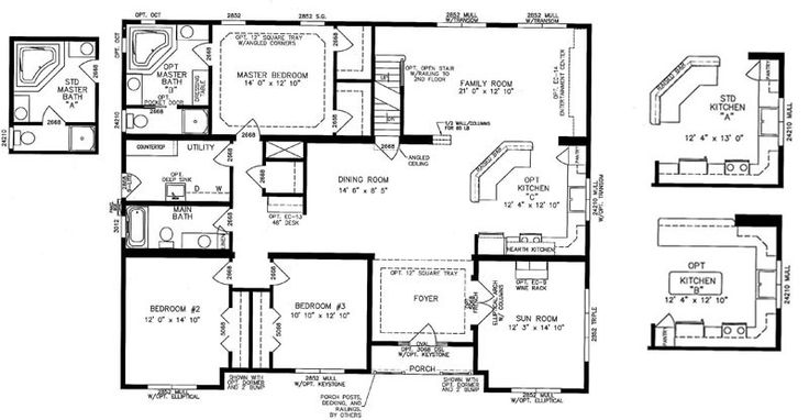 Bedroom Mobile Home Layouts on mobile homes floor plans with basement, mobile homes from 1976, mobile home kitchen layouts,