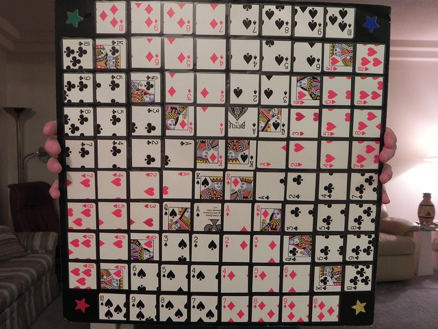 """The """"Sequence"""" board Diy games, Crafts to do, Board games"""