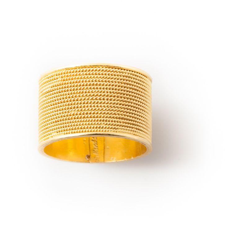 Gorgeous ring in gold filigree  Anello in filigrana in oro 18Kt loredanamandas.com