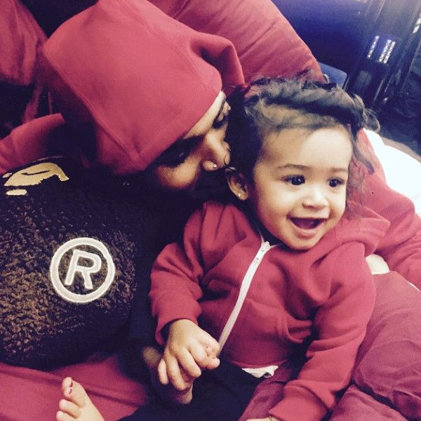 Chris Brown Shares First Photo With Daughter Royalty: ''God Has Blessed Me With My Twin''  Chris Brown, Instagram