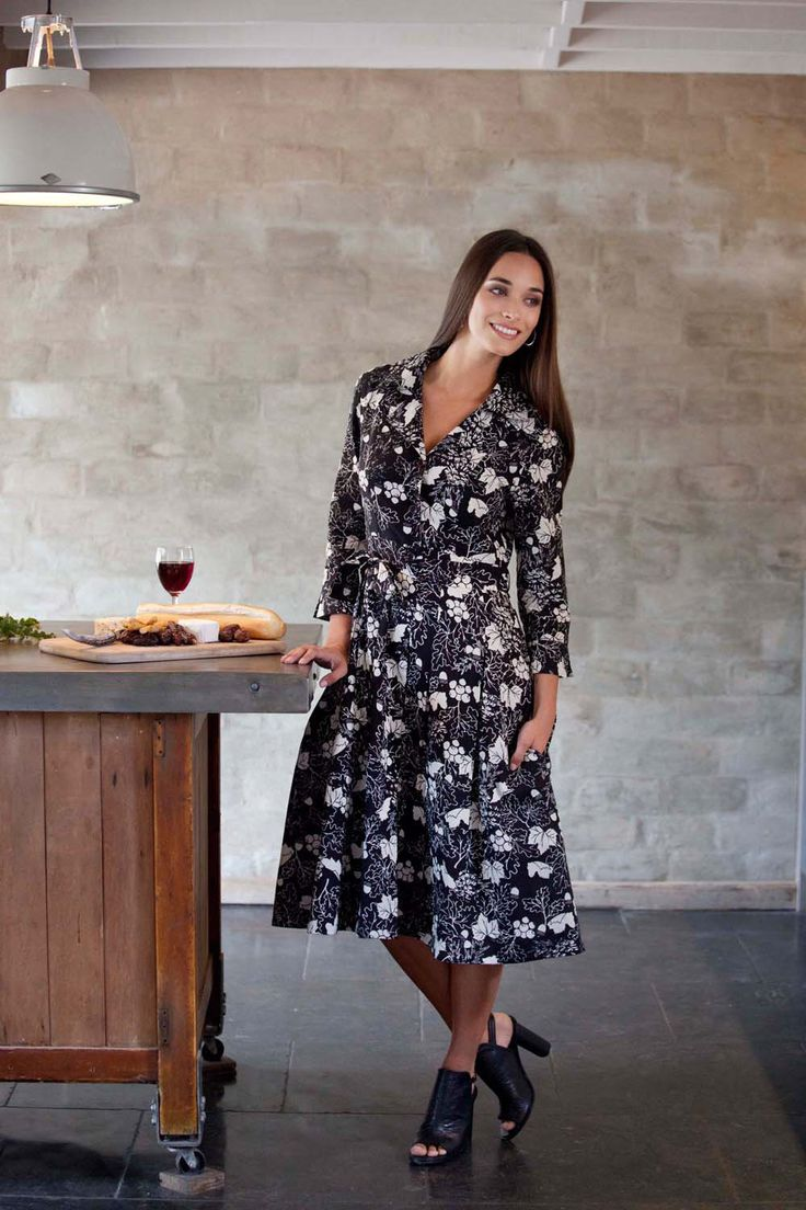 that bird label Lyla Shirt Dress - Womens Calf Length Dresses at Birdsnest Online