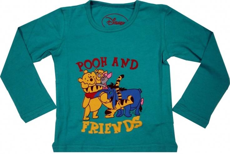 Bluza oficiala Disney cu Winnie, 100% bumbac.