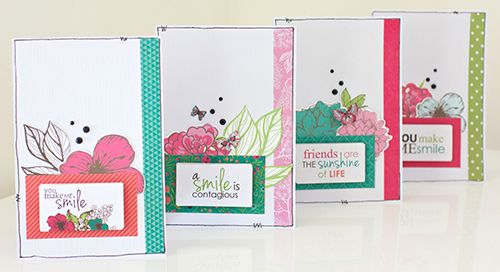 """Fly-Free"" Card Set by Alicia McNamara Kaisercraft Design Team using 'Little One' collection - Wendy Schultz ~ Cards 1."