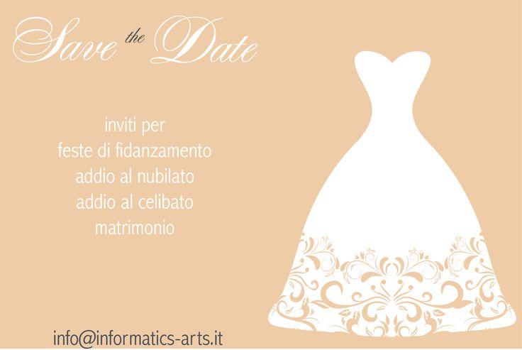 Inviti per matrimoni, feste di fidanzamento, addii al nubilato e celibato per informazioni info@informatics-arts.it