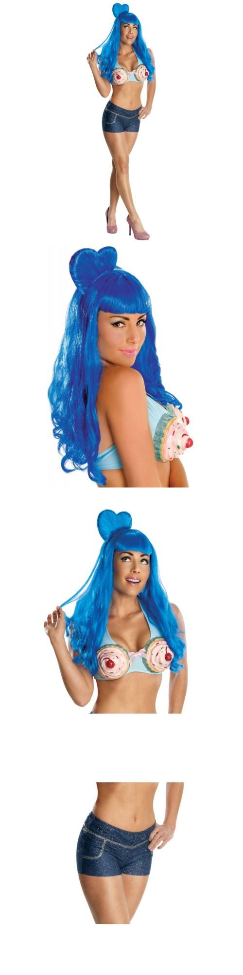 Women Costumes: Katy Perry Costume Adult California Gurls Cupcake Pop Star Halloween Fancy Dress -> BUY IT NOW ONLY: $18.49 on eBay!