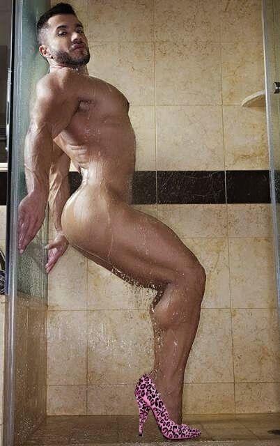 gay shower porn